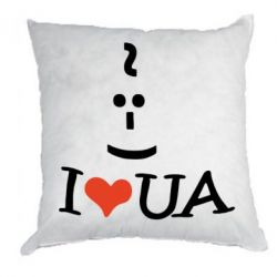 Подушка I love my UA - FatLine