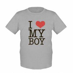 Детская футболка I love my