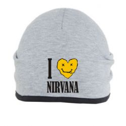 Шапка I love Nirvana - FatLine