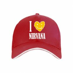 кепка I love Nirvana - FatLine