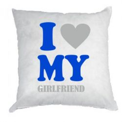 Подушка I love ny girlfriend - FatLine