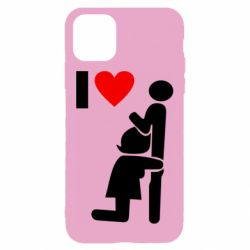 Чохол для iPhone 11 I love oral