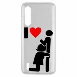 Чохол для Xiaomi Mi9 Lite I love oral
