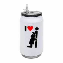 Термобанка 350ml I love oral