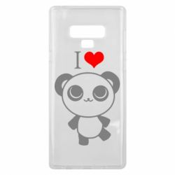 Чохол для Samsung Note 9 I love Panda
