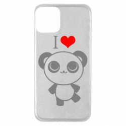 Чохол для iPhone 11 I love Panda