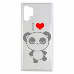 Чохол для Samsung Note 10 Plus I love Panda