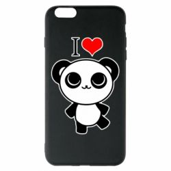 Чохол для iPhone 6 Plus/6S Plus I love Panda