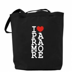Сумка I love Paramore - FatLine