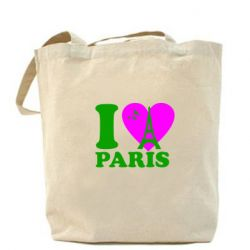 Сумка I love Paris