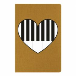 Блокнот А5 I love piano - FatLine