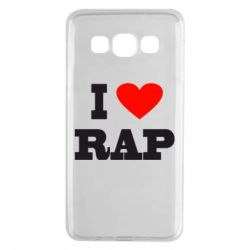 Чехол для Samsung A3 2015 I love rap