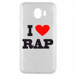 Чехол для Samsung J4 I love rap
