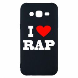 Чехол для Samsung J5 2015 I love rap