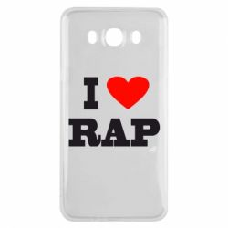 Чехол для Samsung J7 2016 I love rap