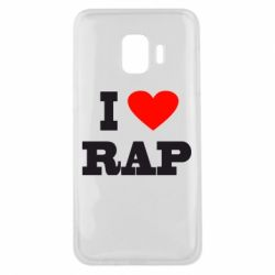 Чехол для Samsung J2 Core I love rap