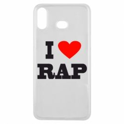Чехол для Samsung A6s I love rap