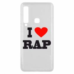 Чехол для Samsung A9 2018 I love rap