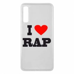 Чехол для Samsung A7 2018 I love rap