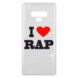 Чехол для Samsung Note 9 I love rap