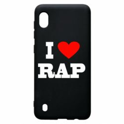Чехол для Samsung A10 I love rap