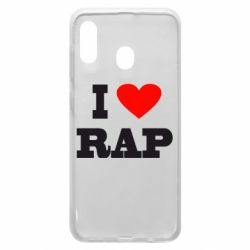 Чехол для Samsung A30 I love rap