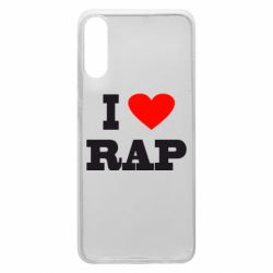 Чехол для Samsung A70 I love rap