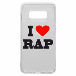 Чехол для Samsung S10e I love rap