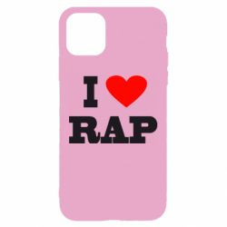 Чехол для iPhone 11 I love rap