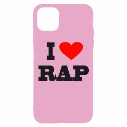 Чехол для iPhone 11 Pro I love rap