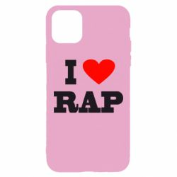 Чехол для iPhone 11 Pro Max I love rap