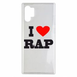 Чехол для Samsung Note 10 Plus I love rap