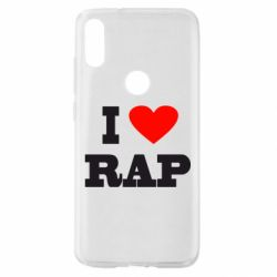 Чехол для Xiaomi Mi Play I love rap