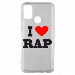 Чехол для Samsung M30s I love rap