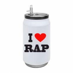 Термобанка 350ml I love rap