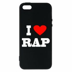 Чехол для iPhone5/5S/SE I love rap