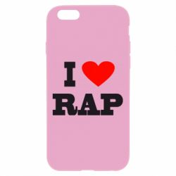 Чехол для iPhone 6 Plus/6S Plus I love rap