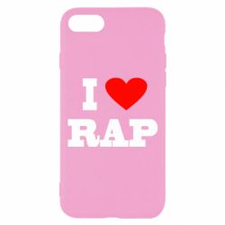 Чехол для iPhone 7 I love rap