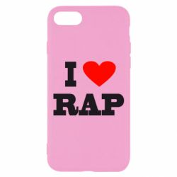 Чехол для iPhone 8 I love rap