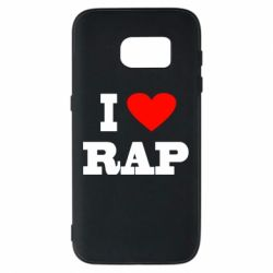 Чехол для Samsung S7 I love rap