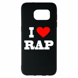 Чехол для Samsung S7 EDGE I love rap