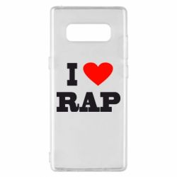 Чехол для Samsung Note 8 I love rap