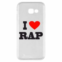 Чехол для Samsung A5 2017 I love rap