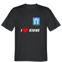 Мужская футболка I love Rivne - FatLine