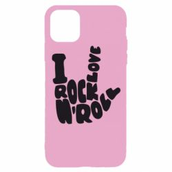 Чохол для iPhone 11 Pro I love rock'n'roll
