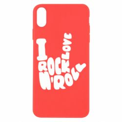 Чохол для iPhone X/Xs I love rock'n'roll