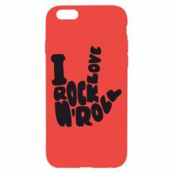 Чохол для iPhone 6/6S I love rock'n'roll