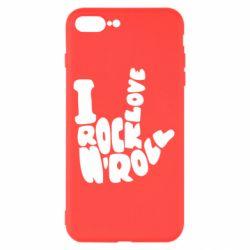 Чохол для iPhone 7 Plus I love rock'n'roll