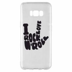 Чохол для Samsung S8+ I love rock'n'roll