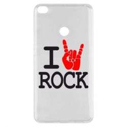 Чехол для Xiaomi Mi Max 2 I love rock - FatLine